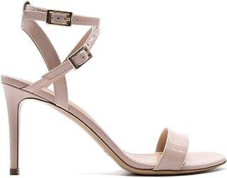 Luxury Fashion | Aldo Castagna Women KIRA5580CIPRIA Pink Leather Sandals | Season Permanent
