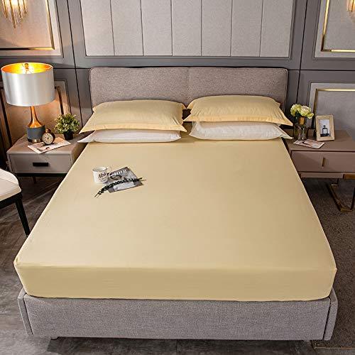 haiba Spannbettlaken Jersey Spannbetttuch Bettlaken mit Einer Steghöhe von Hochwertig elastisch atmungsaktiv und weich 3pcs-180x200CM