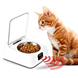 BEELIKE Auto Open & Close Cat Bowl Pet Feeder Keep Wet Food Fresh