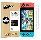 iVoler [Lot de 2] Verre Trempé pour Nintendo Switch [Garantie à Vie], Film...