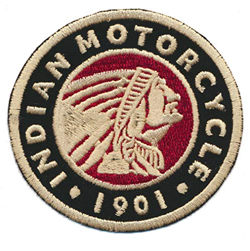 Indian Aufnäher Patch Aufbügler Motorrad Motorcycle Drifter Scout Chief USA