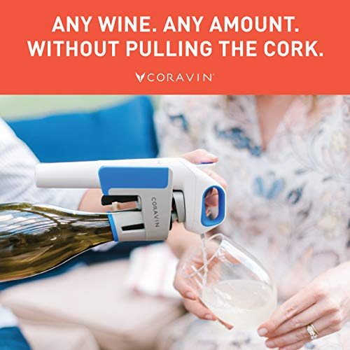 Coravin Model One Advanced - Wine Bottle Opener and Preservation System, Includes 2 Argon Capsules