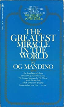 Paperback The Greatest Miracle in the World Book