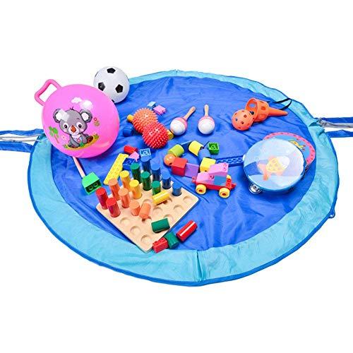 YUEXING Children's storage toy storage bag storage bag storage bag, picnic beach rug 60 inch