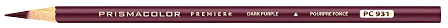 Prismacolor Premier Colored Pencil, Dark Purple (3359)