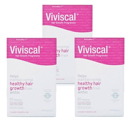 Viviscal Maximum Strength Hair Growth Programme 3 Month Value Pack - 180 Tablets by Viviscal