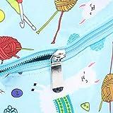 Almacenamiento de hilo, Bolsa de tejer, Hilo portátil para ganchos de ganchillo Agujas de tejer Accesorios para tejer