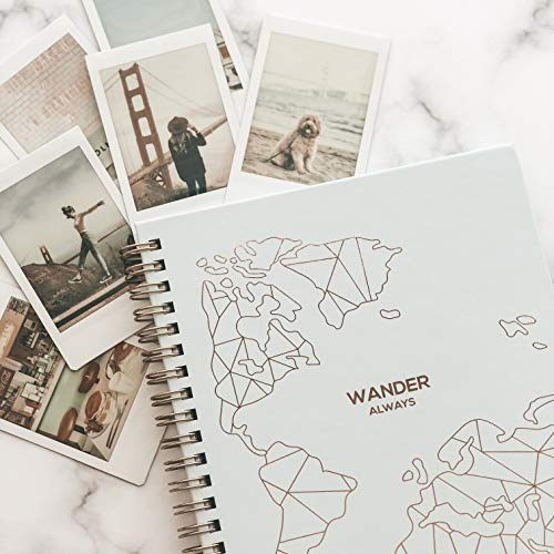 Product Image 2: Travel Planner Journal for Women– Travel Notebook and Vacation Journal for 6 Trips– A Great Travel Gift – Undated, 6 Trips