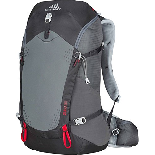 Gregory Mountain Products Zulu 30 Liter Men's Backpack, Feldspar Grey, Medium