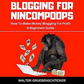 Blogging for Nincompoops: How to Make Money Blogging for Profit, a Beginners Guide cover art