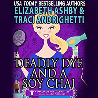 Deadly Dye and a Soy Chai audiobook cover art