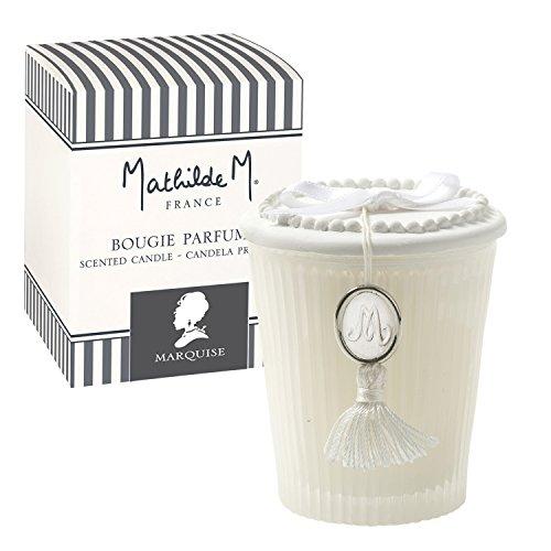 Mathilde M : Coffret Bougie Parfumée Les Intemporels - Parfum d'Ambiance (Marquise)