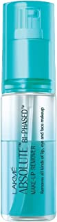 Lakme Absolute Bi Phased Makeup Remover, 60ml