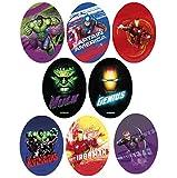8 parches avengers serigrafiados para planchar - REF.6783-U8