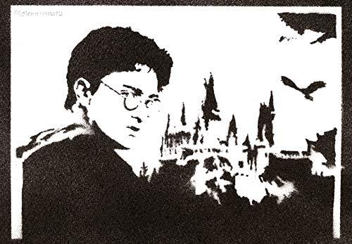 Poster Harry Potter Affiche Handmade Graffiti Street Art - Artwork