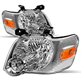 SOCKIR Headlight Assembly Compatible with 06-10 Ford Explorer Driver and Passenger Side