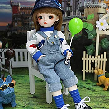 UCanaan BJD Doll 1/6 SD Dolls 12 Inch 18 Ball Jointed Doll DIY Toys with Full Set Clothes Shoes Wig Makeup Best Gift for Girls-Yixin