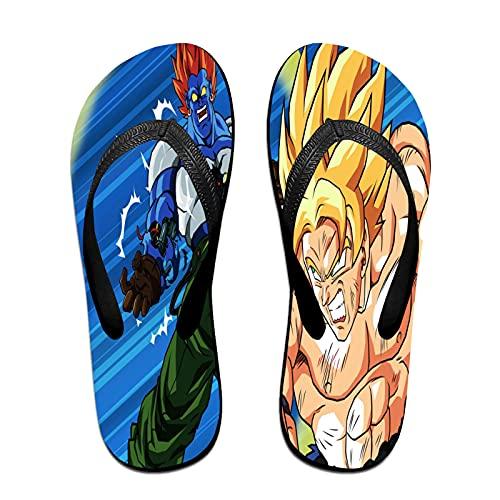 Xiaoxian Dra-gon Ba-ll Z 97 - Zapatillas de playa para interiores, color Morado, talla Small X-ancho