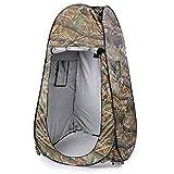 Rpaio Pop-up Douche Tente Tente extérieure confidentialité Tente - Changement de Toilettes Chambre Pop-up Tente Camouflage Outdoor Tente de confidentialité étanche Easy Open 180T