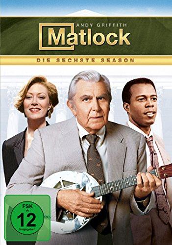 Matlock - Season 6 [6 DVDs]