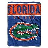 NORTHWEST NCAA Florida Gators Raschel Throw Blanket, 60' x 80', Basic