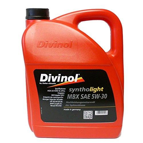 Divinol 49210 Syntholight MBX SAE 5W30 5 Liter Motorenöl