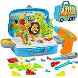 Herefun 329 Piezas Tablero de Mosaicos Infantiles, Mosaicos para niños, Juguetes Montessori Puzzles 3D, Juegos Educativos Regalos Juguetes para Niños de 3 4 5 Años