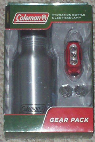 Coleman: Hydration Bottle and LED Headlamp