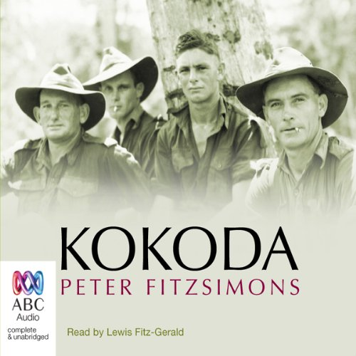 Kokoda (by Peter FitzSimons) audiobook cover art