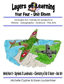 Layers of Learning Unit 4-11  World War II Symbols & Landmarks Air & Water War Art  Layers of Learning Year Four   Volume 11