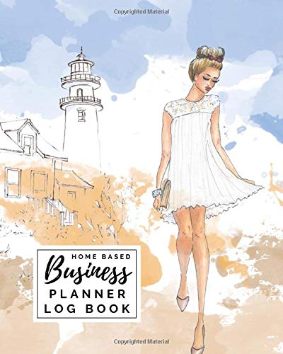 """Home Based Business Planner Log Book: Income Expense Inventory Order Suppliers Tracker 8"""" x 10"""""""