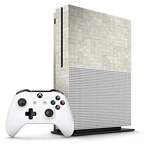 Xbox One S Concrete Tiles Console Skin / Cover/ Wrap for Microsoft Xbox One S