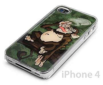 iPhone case - Monkey Smoking Weed