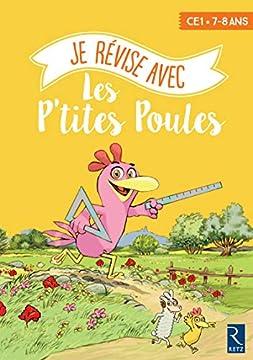 Je révise avec les P'tites Poules 7-8 Ans - Cahier de vacances