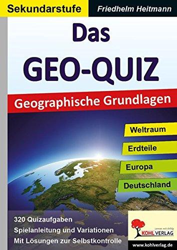 Das GEO-QUIZ: Geographische Grundlagen