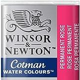 Winsor & Newton Cotman Acuarela En Pastilla, Rosa Permanente, 1,9x1,6x1,1 cm