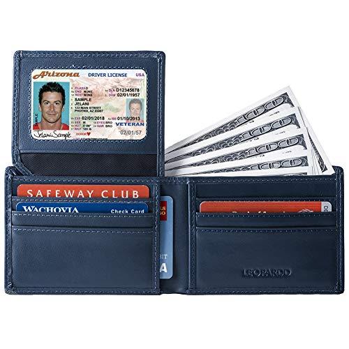 Leopardd Men's Bifold Wallet