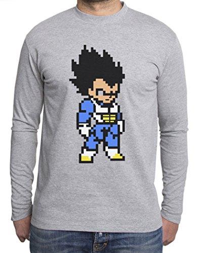 Sambosa - T-Shirt à Manches Longues - Homme - Gris - S