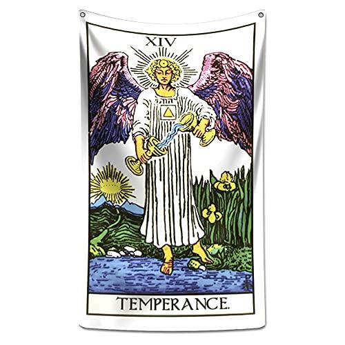 Panô Decorativo Carta de Tarot Temperança - Banner
