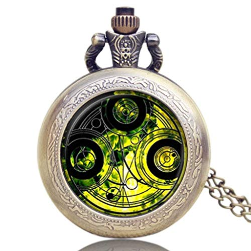 WMYATING Atmosphère Nouvelle et Haut de gamme, précision de Reloj de Cuarzo Cosplay Moda Tema Relojes de Bolsillo (Color : 3)