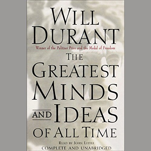 The Greatest Minds and Ideas of All Time audiobook cover art