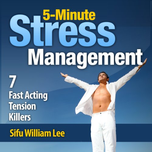 5-Minute Stress Management audiobook cover art