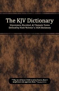 The KJV Dictionary
