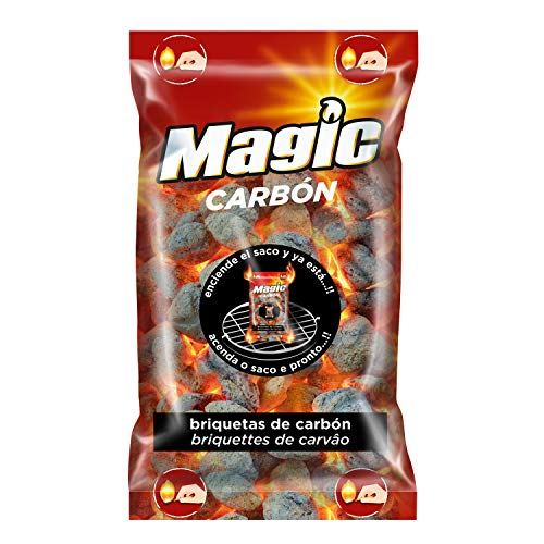 Magic 07989 Briquetas de Carbón Autoencendible