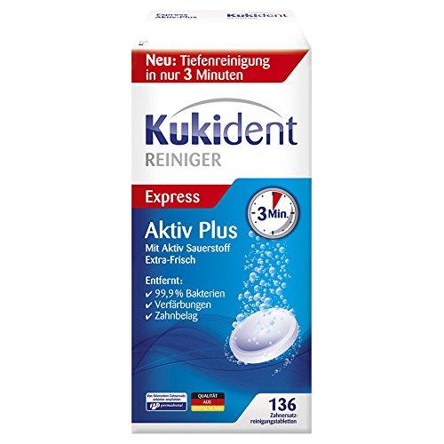 KUKIDENT activo Plus Gebissre 136 ST tabletas