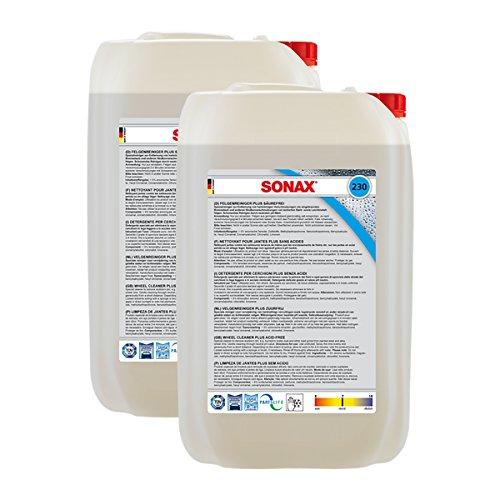 SONAX 2X 02305000 Felgenreiniger Plus säurefrei 5L