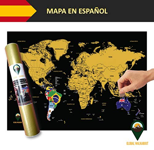 Global Walkabout ESPAÑOL - Mapa De Raspaditos Con