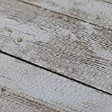 Hode Holz Folie Selbstklebend Vinyl Verbesserte Holzoptik Möbelfolie Vintage Holz Klebefolie für Möbel Küche Kommode Schrank Tisch Wasserdicht 45X300cm - 7