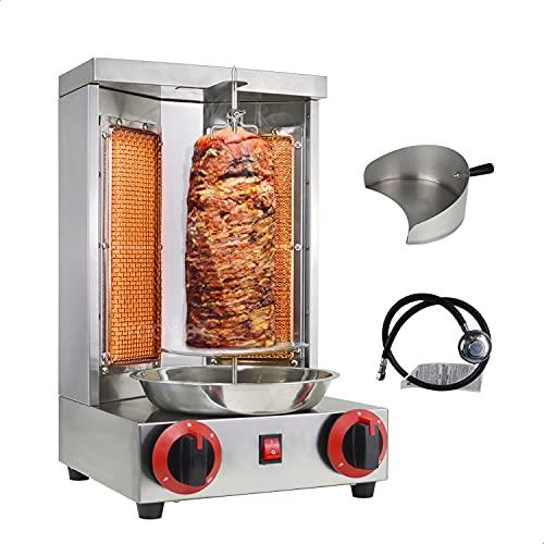 Zz pro shawarma grill machine propane doner kebab machine vertical...