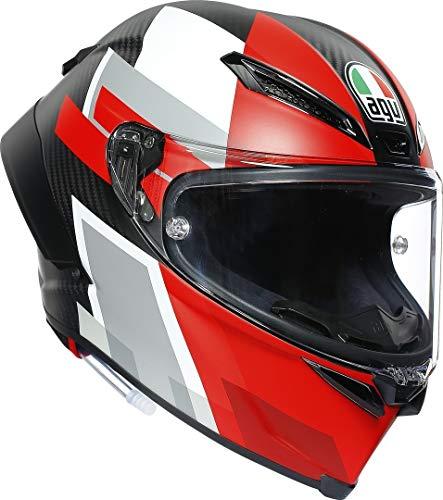 casco moto gp CASCO PISTA GP RR AGV ECE-DOT MULTI MPLK COMPETIZIONE CARBON/WHITE/RED XXL